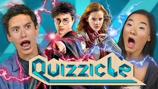 HARRY POTTER QUIZZICLE CHALLENGE!!! (New Game Show: React Special)