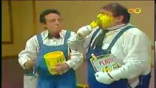 CHESPIRITO 1981- El Gordo y El Flaco- Los pintores- parte 1 HD