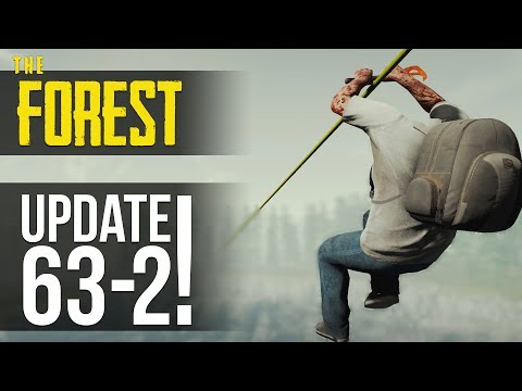 UPDATE v0.63! Ziplines, Machete, Crane and Bird House! The Forest!