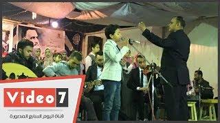 """اليوم السابع يلتقى أسرة الطفل محمد أسامة بعد الخروج من مسابقة """"ذا فويس كيدز"""""""