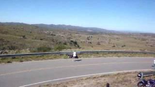 ROAD RACE COPINA 2010 - ACCIDENTE!!! - Pasada de las motos y caida!!!
