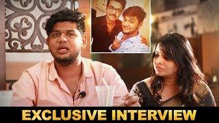 Thalapathy Vijay hugged me when i cried in front of him | Abishek Raaja & Deepa Raaja Interview