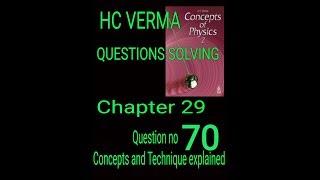 #Hcv HC Verma || Electrostatics || solving questions || Question no 70