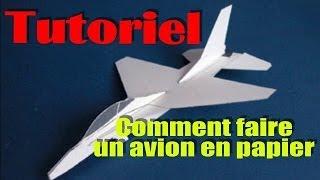 [HUMOUR]Tutoriel: Comment faire un avion en papier [ATTENTION JEUNE, C'EST DE L'HUMOUR]
