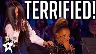 Mel B Gets Petrified After Terrifying Audition! | America