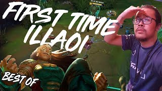 JE FIRST TIME ILLAOI EN RANKED - BEST-OF - SAKOURVIT