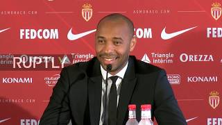 REFEED: Thierry Henry officially presented as new AS Monaco head coach