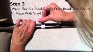 Patio Umbrella Rib Repair For Aluminum R... 2 Years Ago