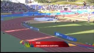 MARISOL ROMERO - Medalla de Oro para México 5000 mts Atletismo 27 OCTUBRE 2011