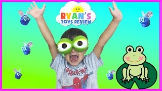 Family Fun Game for Kids Fool the Frog Egg Surprise Toys Car Tomica Disney Pixar Finding Dory