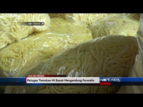 NET YOGYA - Petugas Temukan Mi Basah Mengandung Formalin di Kulon Progo