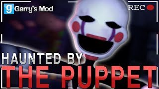 Garry's Mod | HAUNTED BY THE PUPPET MASTER! | Gmod Five Nights at Freddy's 2 Horror Story (Parody)