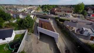 LUAS Cross City - Liam Whelan Bridge Replacement - (Time-lapse)