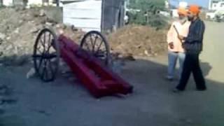 Hazursahib canon fire