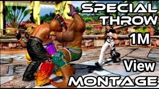 Tekken Tag Tournament 2 | Special Throw Montage