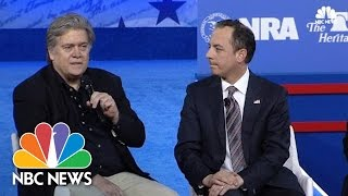 Stephen Bannon At CPAC: 'We Never Had A Doubt' About A Donald Trump Victory   NBC News