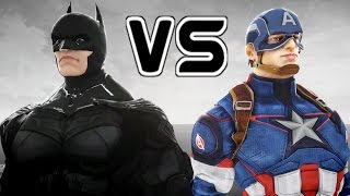 BATMAN VS CAPTAIN AMERICA - EPIC BATTLE