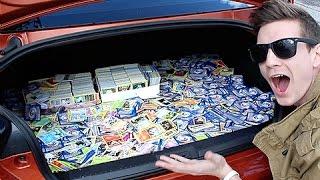 Donating 20,000+ Pokemon Cards To Children