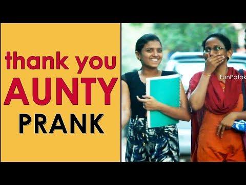 Xxx Mp4 Thank You AUNTY Prank In Telugu Pranks In Hyderabad 2018 FunPataka 3gp Sex