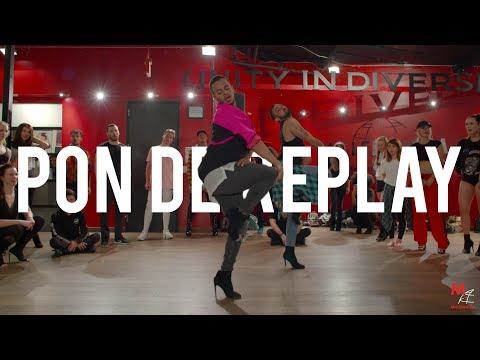 "YANIS MARSHALL HEELS CHOREOGRAPHY ""PON DE REPLAY"" RIHANNA. MILLENNIUM DANCE COMPLEX"