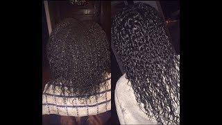 Curly Perm On Natural Hair | Raven Unique