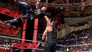 Roman Reigns vs. Alberto Del Rio: Raw, 25. April 2016