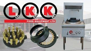 LKK Waterless Wok Bench Burner Options
