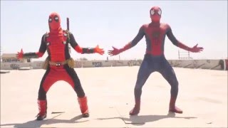 spiderman vs deadpool - lahiru perera - salli