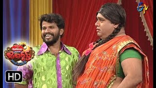 Hyper  Aadi Raijing Raju Performance | Jabardsth | 10th August 2017| ETV  Telugu