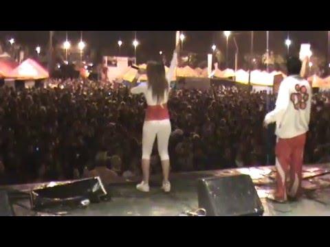 La Cachorra en la Noche Azul y Oro Expo Luque 2010 Video de EsParaguay.tv 1de2