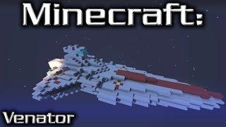 Minecraft: Star Wars: Star Destroyer Tutorial (Venator 1/20th Scale)