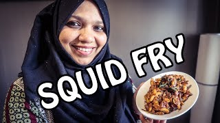 MALABAR SQUID- KOONTHAL FRY- HOMEMADE! EASY VIDEO| NAS KITCHEN