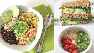 What I Eat In A Day 🌿 Healthy Meal Ideas | Lisa Lorles