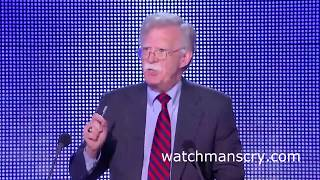 John Bolton says the USA is invading Iran in 2018