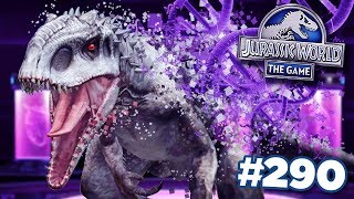 SELLING INDOMINUS REX!!!    Jurassic World - The Game - Ep290 HD
