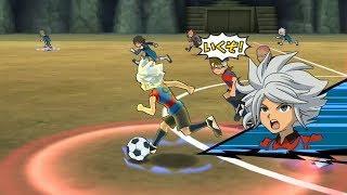 Inazuma Eleven GO Strikers 2013: Dark Emperors Vs Chaos Wii Epic (Dolphin/Gameplay)