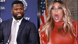 50 cent Goes On Wendy Williams Show 2 END THE BEEF?!?