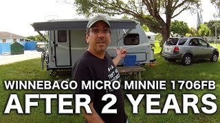 Winnebago Micro Minnie 1706FB review after two years