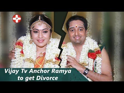 Vijay Tv Anchor Ramya to get Divorce | VJ Ramya | OK Kanmani | Tamil Movie | Latest News