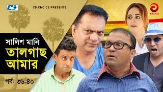 Shalish Mani Tal Gach Amar | Episode 36-40 | Bangla Comedy Natok | Siddiq | Ahona | Mir Sabbir