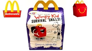NEXT McDONALD'S HAPPY MEAL TOYS 2016 DREAMWORKS TROLLS MOVIE DIARY OF A WIMPY KID UK KIDS MEAL TOYS