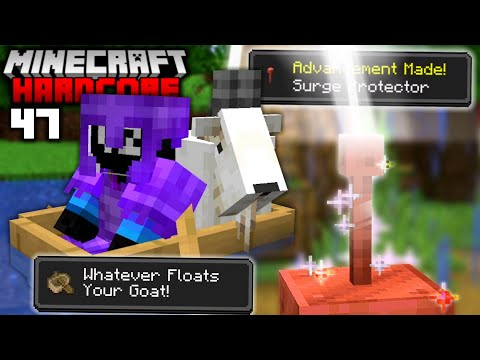 I Completed EVERY Advancement in Minecraft 1.17 47