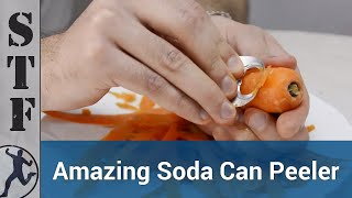Disposable Vegetable Peeler from a Soda Can | Life Hacks