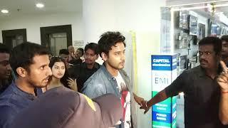 Fidaa Movie Promotion Krishnagar Sentrum Mall Yash Dasgupta & Sanjana Banerjee