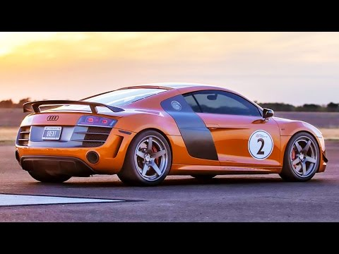 WORLDS FASTEST Audi R8 2100hp Twin Turbo