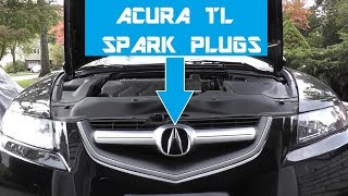Acura TL Spark Plug Replacement