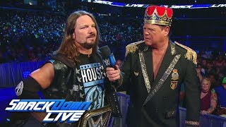 AJ Styles vows to be the Last Man Standing: SmackDown LIVE, June 12, 2018