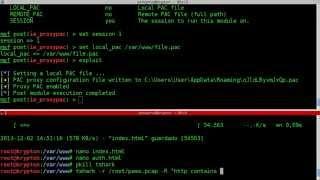 Metasploit: DNS Spoofing through a Proxy PAC File