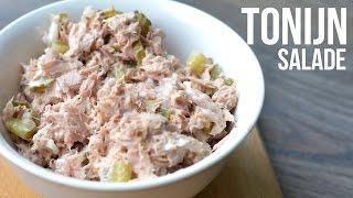 Supersnelle Tonijnsalade - OhMyFoodness