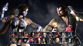 Mortal Kombat vs DC Universe_2-player gameplay part 2